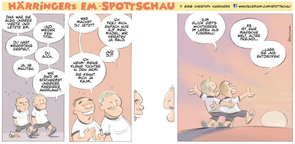 Härringers Spottschau - Der aktuelle Strip